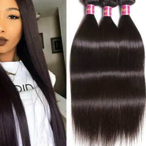 100% Brazilian Human Hair Straight (Natural)