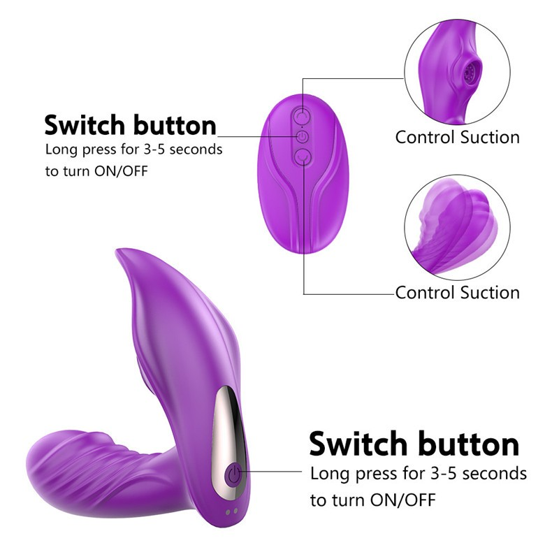 Vagina Sucking Vibrator 10 Speeds Clitoris Sucker Dildo Vibrator Wireless Remote Control Clitoris Stimulator G Spot Vibrator