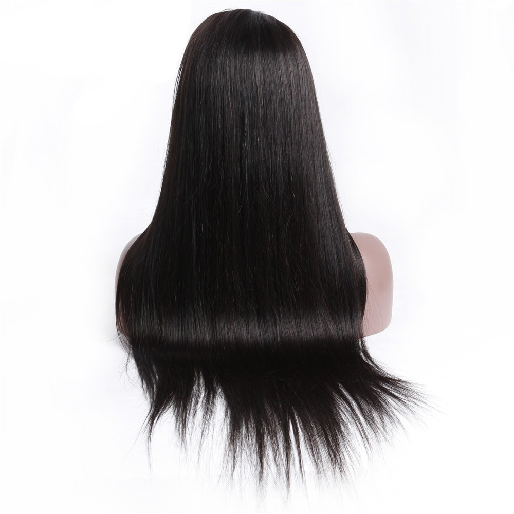 13*1 Lace Part Wig Straight Human Hair Wig For Black Women 150% Brazilian Remy Hair Human Hair Wig Deep Part 4inch Lace Part Wig