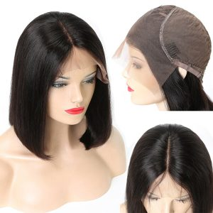 Short Lace Front Human Hair