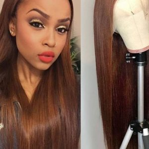 Straight Lace Front Human Hair