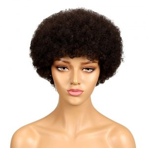 Short Kinky Afro Curly Wig
