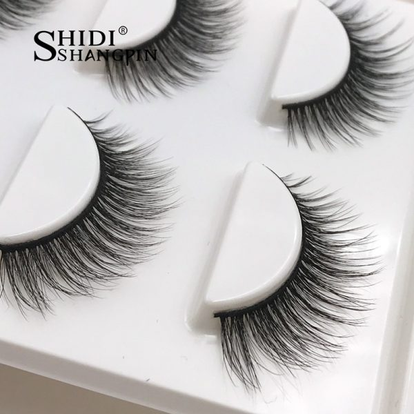 3D Faux Mink Eye Lashes (3 pairs 28 styles)