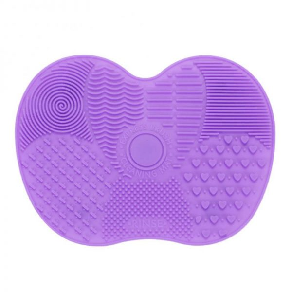 Foundation Brush Cleaner Board (Silicone)