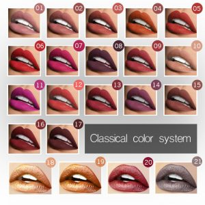 Gloss Metallic Waterproof Lipstick